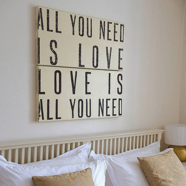 34 Wonderful DIY Typographic Home Decor Ideas