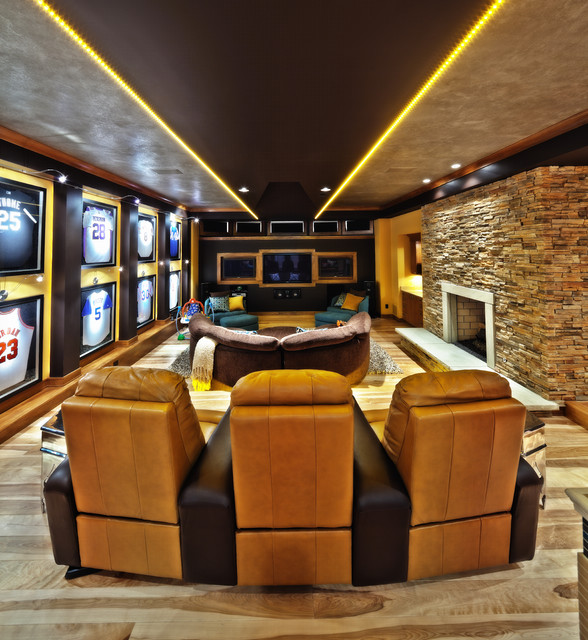 Media Room Design Ideas Part - 35: 22 Contemporary Media Room Design Ideas