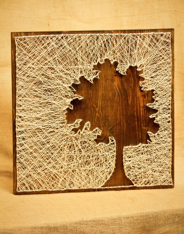 Cool Diy Wall Art Ideas : Creative diy string art ideas