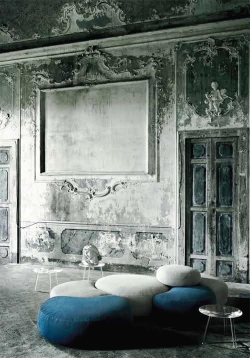 Unique Home Interior Designs: 30 Cool Grunge Interior Designs