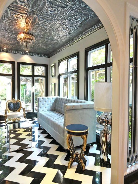 25 Classy And Elegant Black Amp White Floors