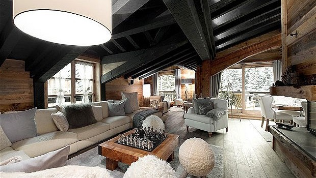 Chalet Le Petit Chateau in Courchevel – Breathtaking Masterpiece in the French Alps