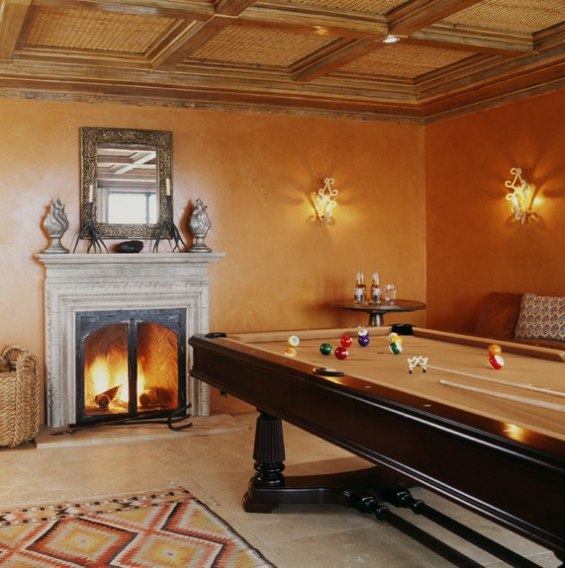 Gray Home Design Ideas: 30 Trendy Billiard Room Design Ideas