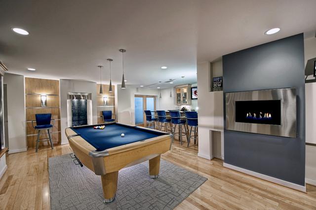 & 30 Trendy Billiard Room Design Ideas