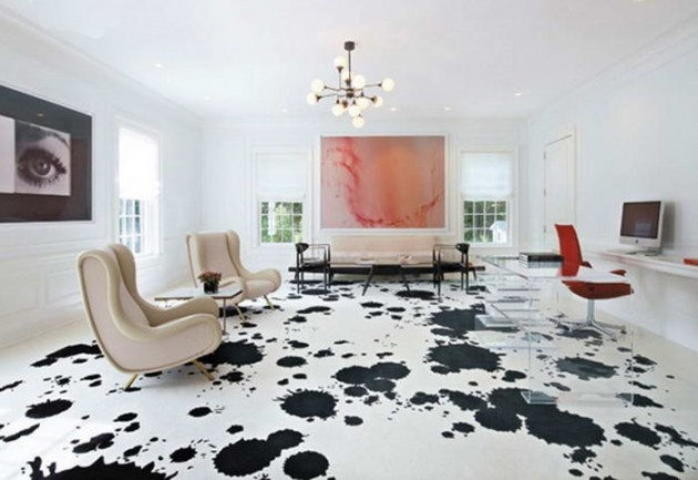 25 Classy And Elegant Black U0026 White Floors
