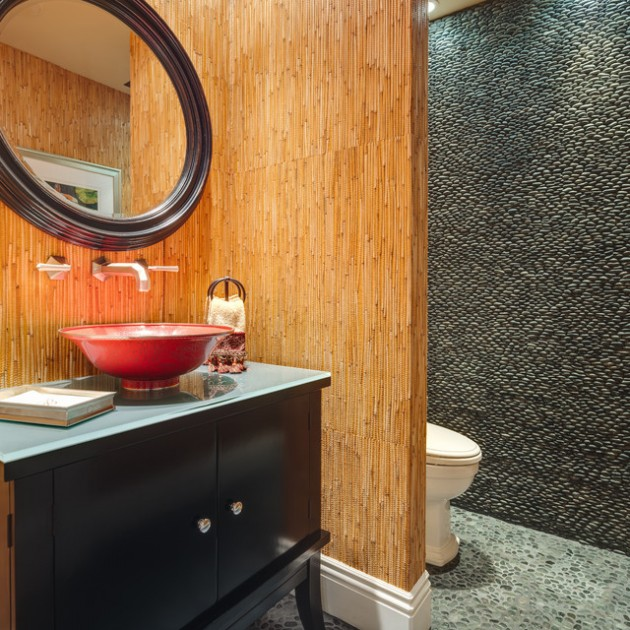 30 Amazing Asian Inspired Bathroom Design Ideas