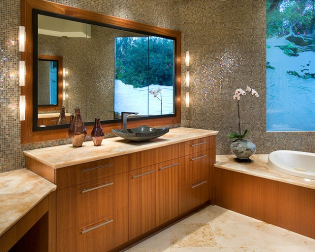 Asian Inspired Bathroom Design Ideas