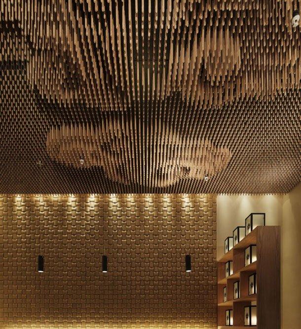 Beautiful Modern House Designs: 30 Magnificent Unique Ceiling Designs