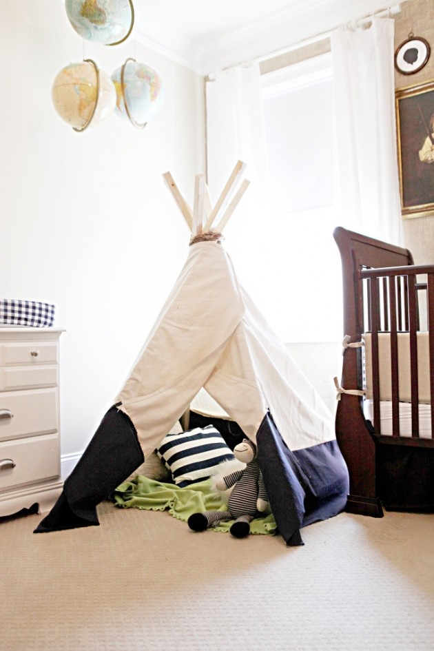 35 Playful and Fun DIY Tents for Kids