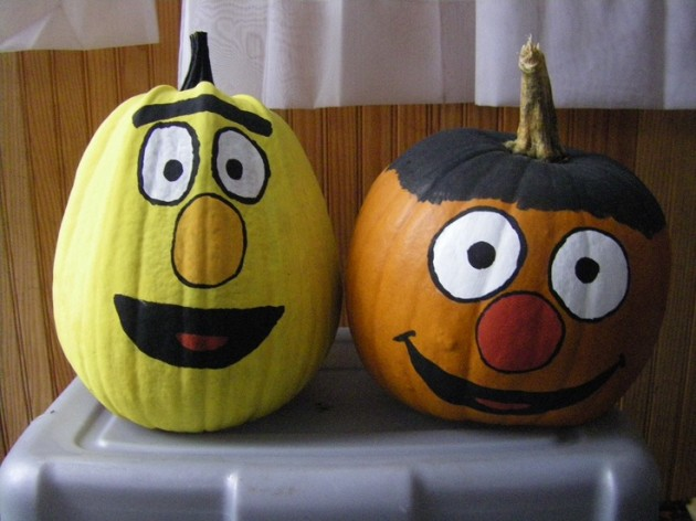 40 creative diy pumpkin designs Easy pumpkin painting patterns