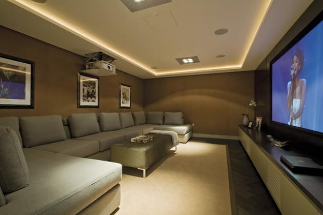 22 Contemporary Media Room Design Ideas