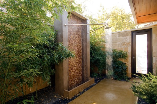 Great 25 Fabulous Outdoor Shower Design Ideas