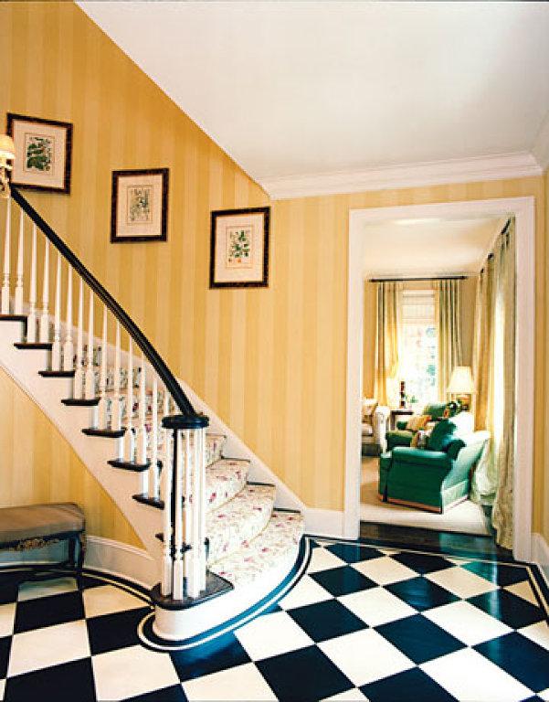 25 Classy and Elegant Black & White Floors