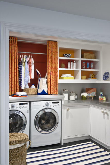 26 Contemporary Super Smart Laundry Room Designs