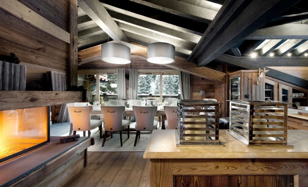 Chalet Le Petit Chateau in Courchevel   Breathtaking Masterpiece in the French Alps