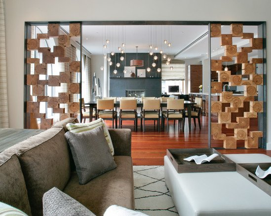 20 great ideas for partition with shelves - Interior design partition ideas ...