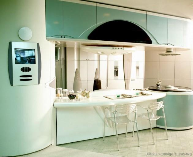 exceptional Retro Kitchen Design Pictures Part - 20: Architecture Art Designs