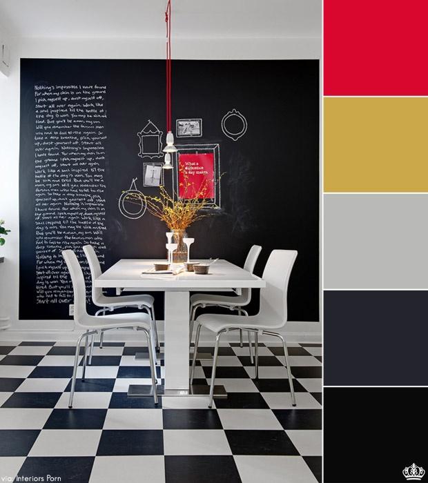 25 Classy And Elegant Black White Floors