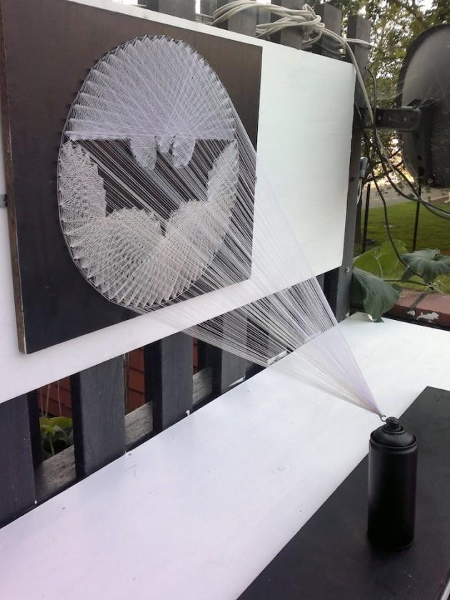 Interior Decor: 30 Creative Diy String Art Ideas