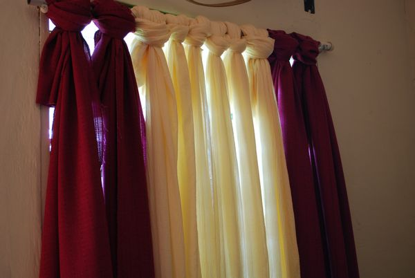 20 Bud Friendly No Sew DIY Curtains Ideas