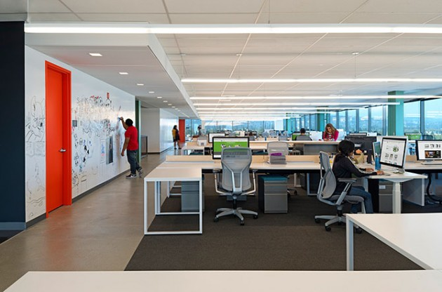 Incredible Office of Evernote in California Made by Studio O+A