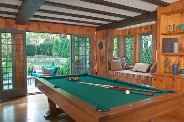 30 Trendy Billiard Room Design Ideas