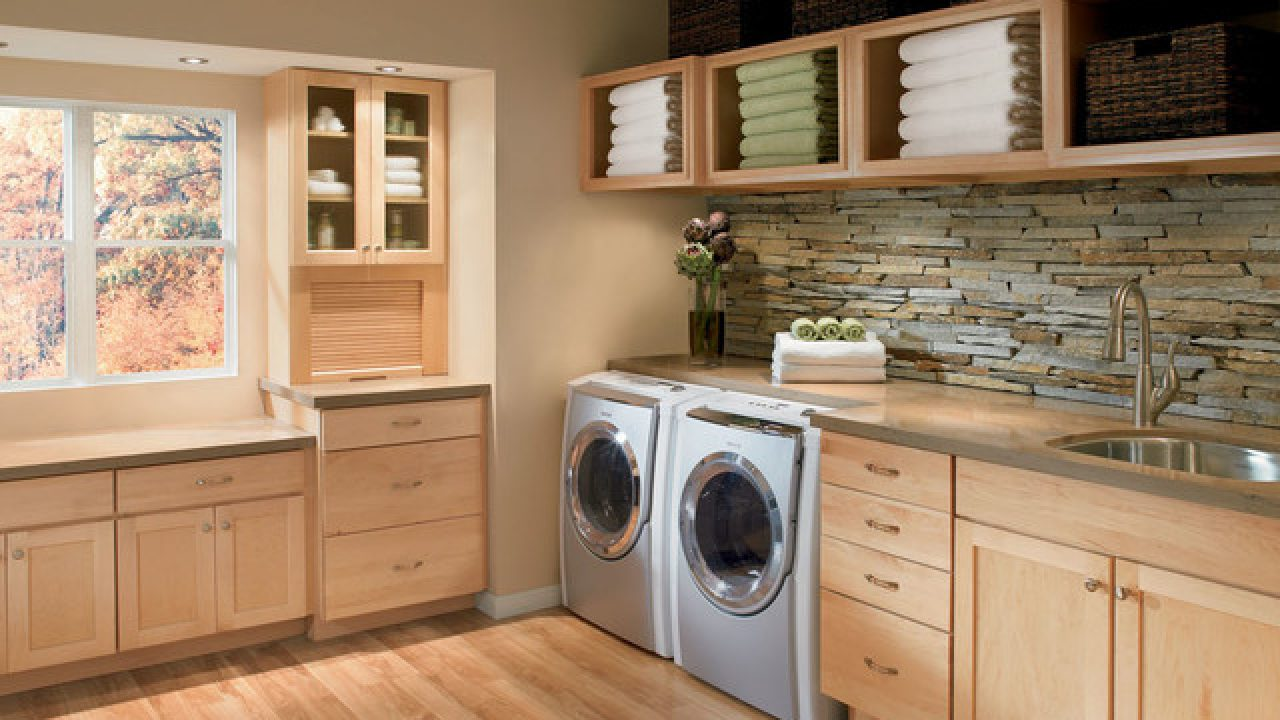 20 Contemporary Super Smart Laundry Room Designs