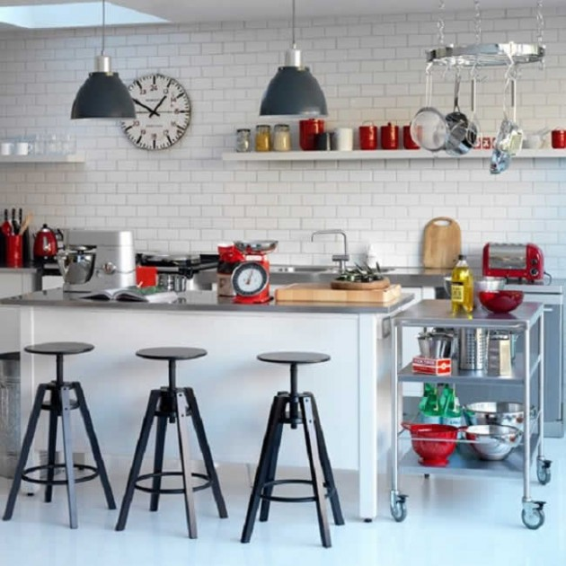 Lovely Retro Kitchen Design Ideas