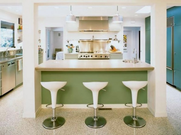 Contemporary Retro Kitchen Ideas Decoration Ideas