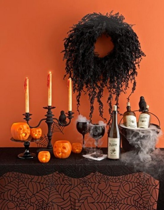 30 inspiring diy halloween decorations. Black Bedroom Furniture Sets. Home Design Ideas