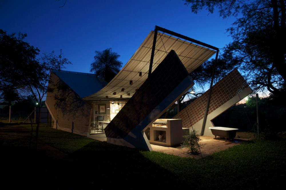 Hammock House Laboratorio De Arquitectura Asuncion Paraguay