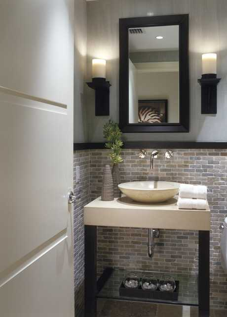 25 Modern Powder Room Design Ideas