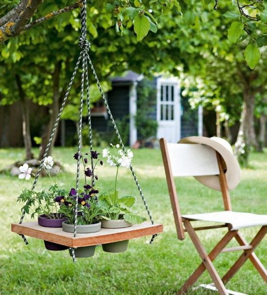 25 Amazing DIY Hanging Table Ideas