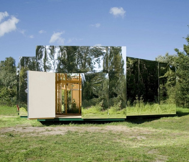 Pavilion for an Artist / DHL Architecture