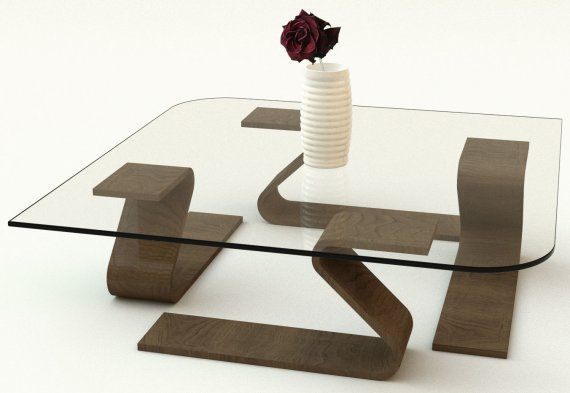 elegant glass table design ideas