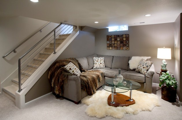 Basement Stair Ideas For Small Spaces: 24 Stunning Ideas For Designing A Contemporary Basement