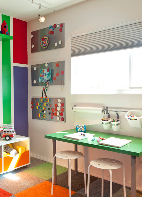 25 Adorable Kids Study Space Designs