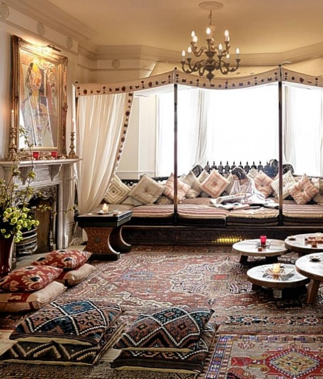 14 Amazing Living Room Designs Indian Style Interior And: 22 Fabulous Moroccan Inspired Interior Design Ideas