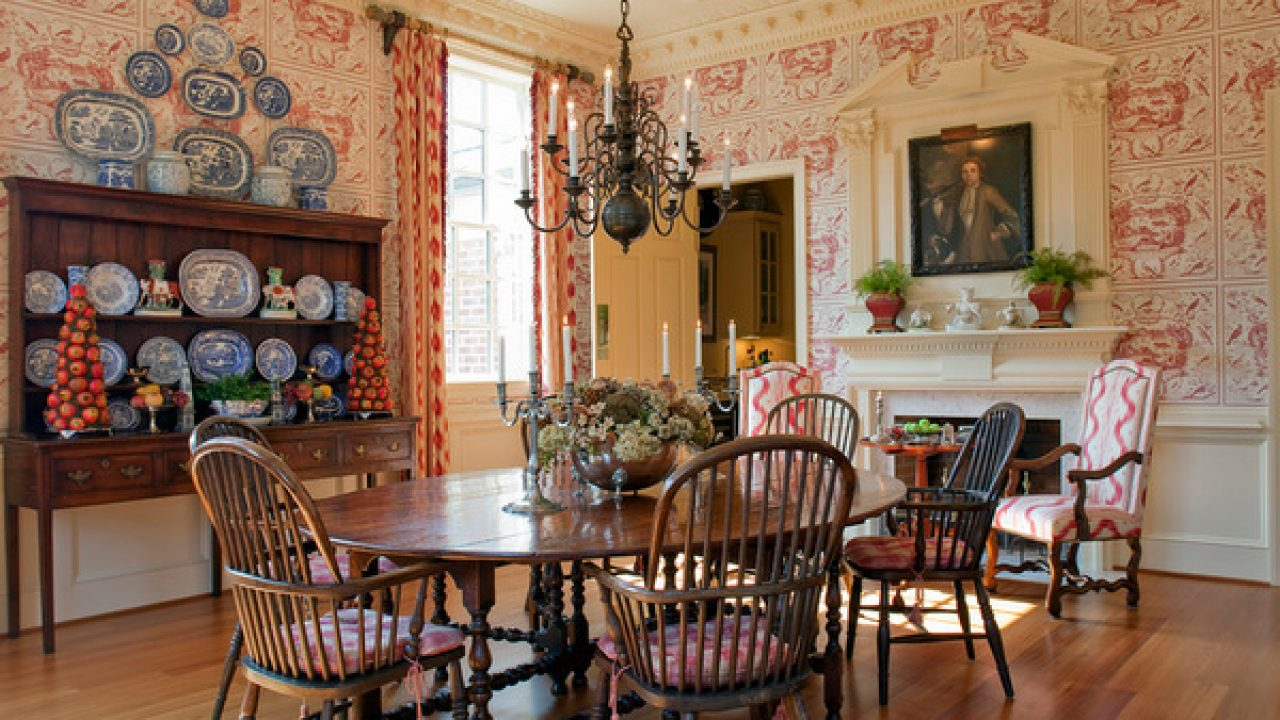 English Country Dining Room Design Ideas, Country Dining Room