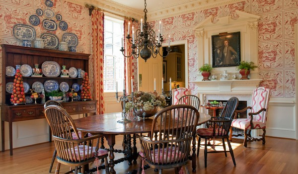 28 sleek english country dining room design ideas - Country Dining Room Design
