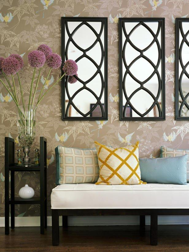 28 unique and stunning wall mirror designs for living room for Miroirs decoratif