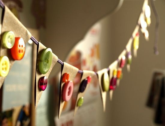 30 Creative DIY Fall Buttons Craft Ideas