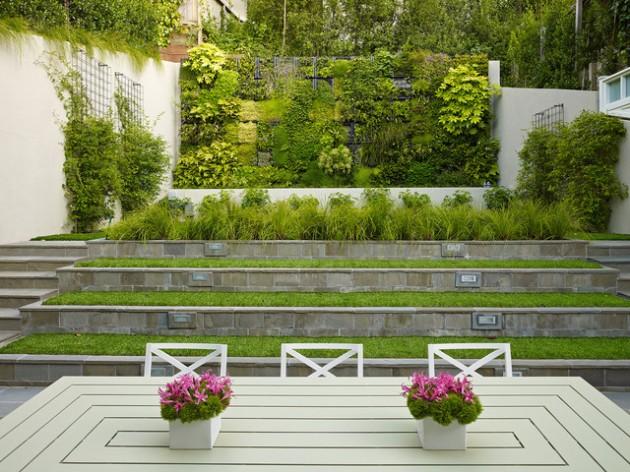 25 Wonderful Examples of Terraced Front Yard Gardens on Terraced Yard Landscape Ideas id=25716