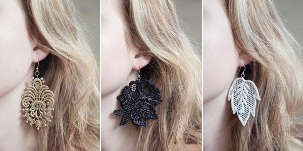 40 Inspiring DIY Lace Decorations