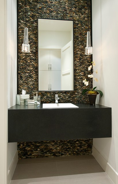 Superior 25 Modern Powder Room Design Ideas