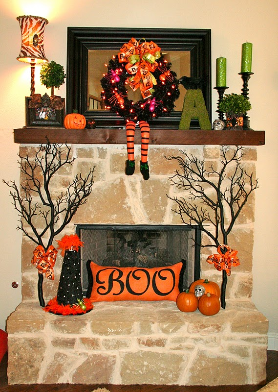Ideas For Small Living Rooms: 40 Delightful DIY Fall Mantel Decoration Ideas