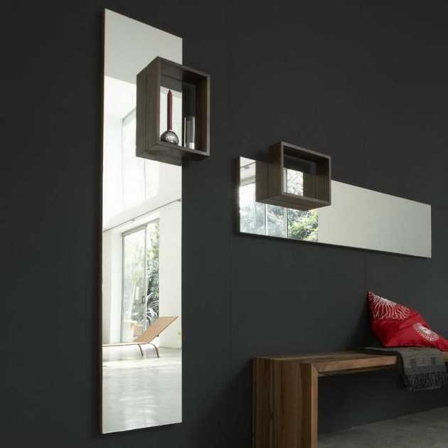 28 unique and stunning wall mirror designs for living room for Living room mirrors