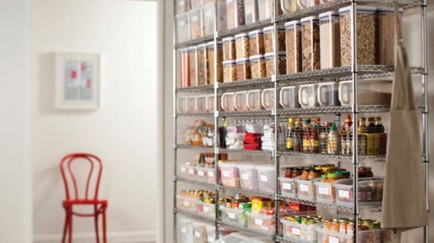34 insanely smart diy kitchen storage ideas Wall Cabinet Storage Ideas