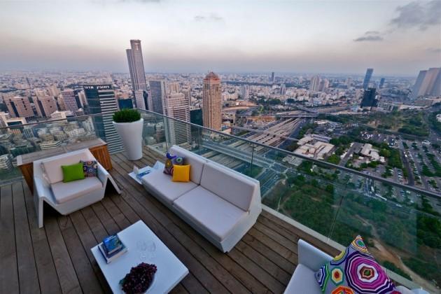 Breathtaking Ultra Luxurious Sky Penthouse in Tel Aviv