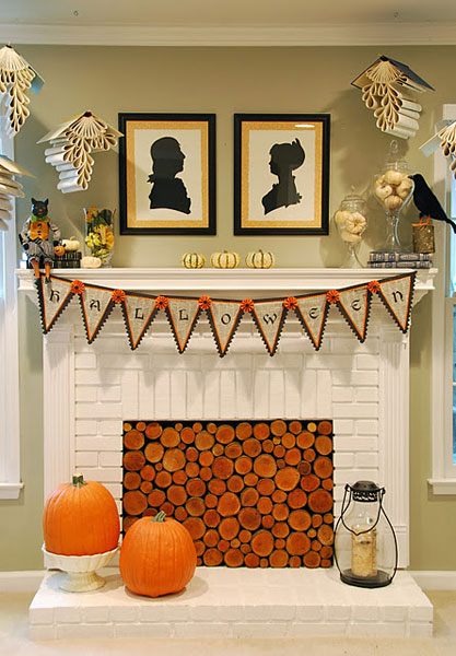 40 Delightful DIY Fall Mantel Decoration Ideas